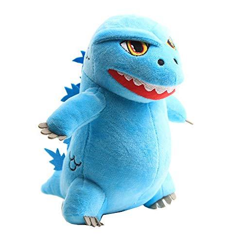 Lopbraa Monster Dinosaur Plush Doll for Kid Monster Figure Plush Toy Boy Dinosaur Figure Plush Collection Blue 20cm