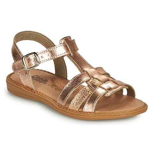 citrouille et compagnie Rolui Sandalen/Sandaletten Madchen Bronze - 33 - Sandalen/Sandaletten Shoes