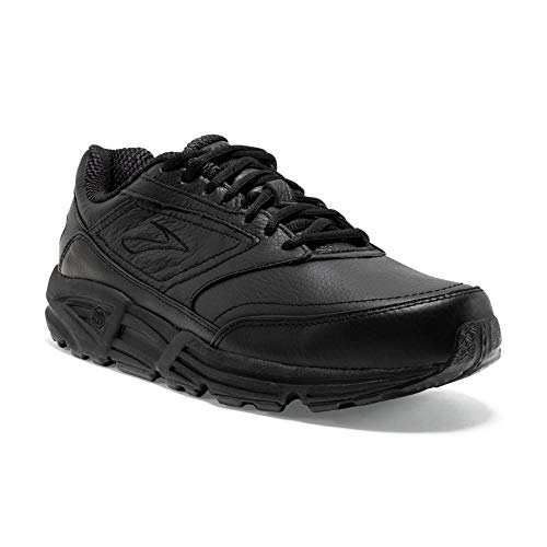 Brooks Women's Addiction, Black, 7.5 EE-Extra Wide