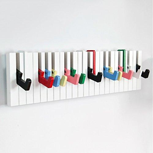 ZML Moderne Minimaliste Manteau Rack Mur Cintre Creative Puzzle Chambre Entrée Rack Porte Clé Piano Crochet Mur Cintre