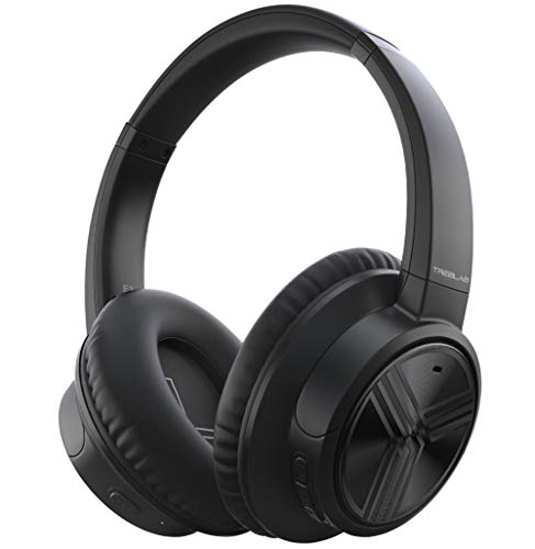 TREBLAB E3 - Ultra-HD Over-Ear Wireless Headphones, Active Noise Cancelling, Bluetooth 5.0 | Premium Softest Materials, 50H Battery w/Type-C, HD Microphone, Best for Sports Workout, Gym, Travel, Work
