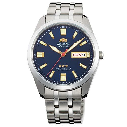 Orient Reloj Analógico para Unisex Adultos de Automático con Correa en Acero Inoxidable RA-AB0019L19B