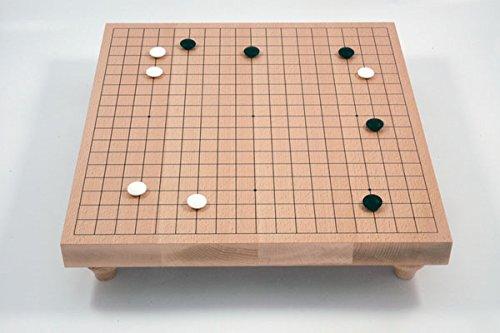 Spiel Buchenfurnierbrett 19x19