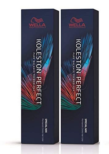 Wella 2 er Pack Koleston Perfect Me+ KP SPECIAL MIX 0/11 asch-intensiv