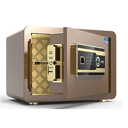 HIZLJJ El gabinete de Seguridad Caja de Seguridad antirrobo, Electrónica Depository contraseña de la Huella Digital Caja de Seguridad - for la joyería depositar Dinero en Efectivo