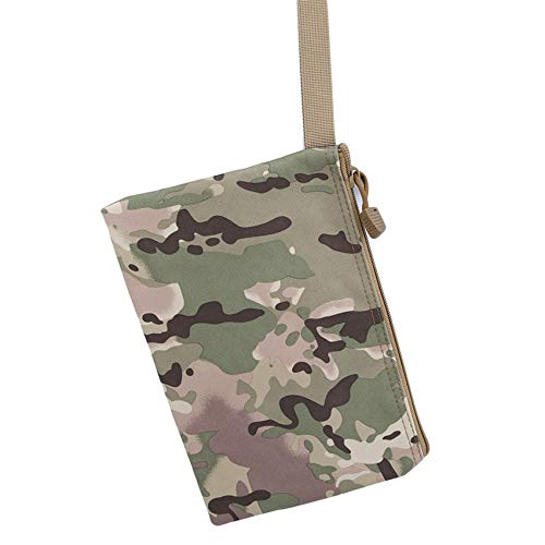 LPOQW Outdoor Clutch Wallet Nylon Hand Pouch Military Wallet Hunting Hand Bag Clutch Bag Hunting Universal Tactical Pouch Accessories Gift,Camouflage