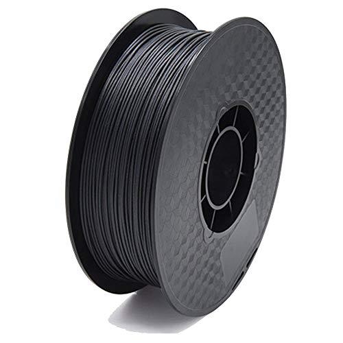 PLA Carbon Fibre Filament 1.75mm 1kg Spool, 3D Printer Filament for 3d Printers, Dimensional Accuracy +/- 0.02mm