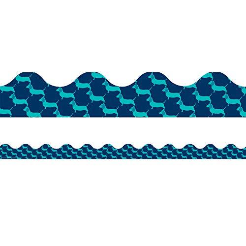Eureka Deko-Streifen für Klassenzimmer mit Hundemotiv, 5 x 94 cm, 12 Stück