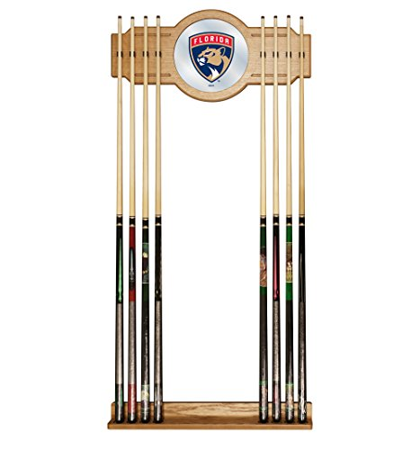 Trademark Gameroom NHL Florida Panthers Cue Rack with Mirror