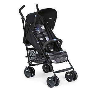 Chicco London - Silla de paseo, 7.2 kg, compacta y manejable, color negro estampado (Matrix)