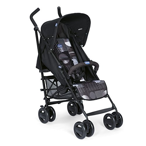 Chicco London - Silla De Paseo, 7.2 Kg, Compacta Y Manejable, Color Negro