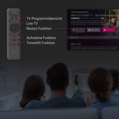 Telekom MagentaTV Stick   Fernsehen über WLAN   Mit MagentaTV über 50 TV-Sender in HD   zuhause oder unterwegs   Streaming-Dienste (Netflix, Prime Video, Disney+, TVNOW...) Android TV, 4K UHD