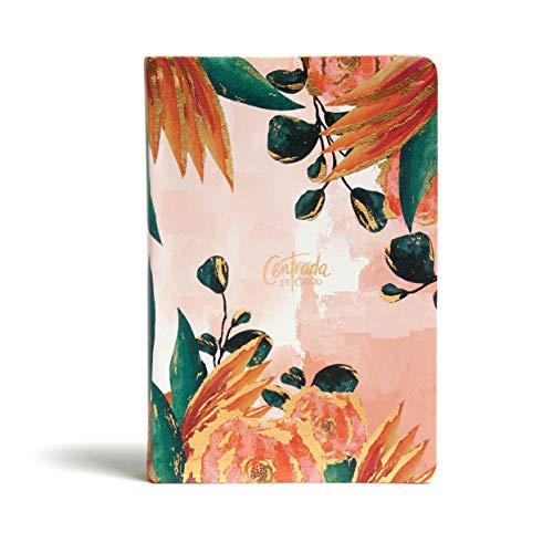 RVR1960 Centrada en Cristo, floral símil piel: Biblia Devocional Para Mujeres