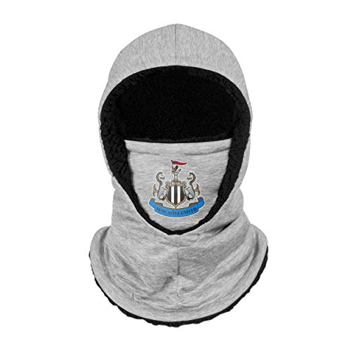 Forever Collectibles UK Football Newcastle United FC Premier League One Grey Hooded Snood Winter Warmer Hat