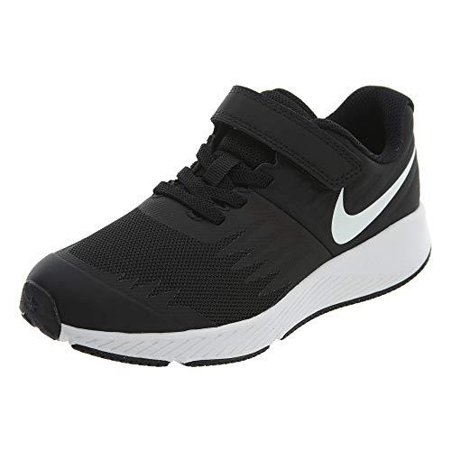 Nike Jungen Star Runner (PSV) Laufschuhe, Schwarz (Black/White/Volt 001), 32 EU