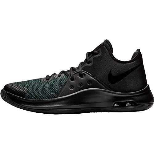Nike Air Versitile III, Zapatos de Baloncesto Unisex Adulto, Negro Black Black Anthracite 002, 44.5 EU