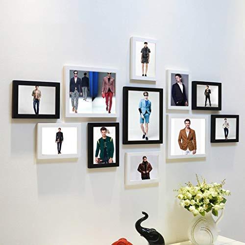 Jjek fotolijst Fotobehang Muurkleding Afbeelding, Herenkleding Winkel Winkel Raam Decoratie Fotomuur, Wandbedekking 135x70cm Totaal 11pc H