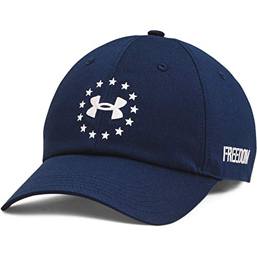 Under Armour Men's Freedom Fury Hat , Academy Blue (408)/White , One Size Fits Most