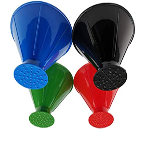 SCRAPER CONE️ 2 Pack of The Original ICE Scraper with Twist /& Lock Top Technology Made in The USA Funnel Shaped ice Scraper That removes ice from car windshields Fast and Easy.
