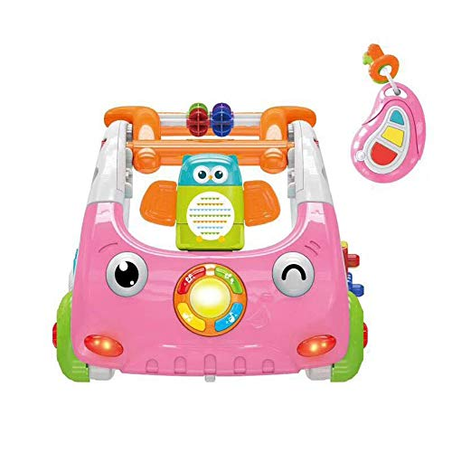 For Sale! Ybriefbag-Toys Baby Three-in-one Activity Walker Infant Baby Hand Push Walker Multifunctio...