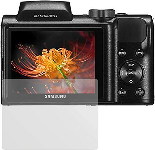 dipos I 6X Schutzfolie matt kompatibel mit Samsung WB 110 Folie Displayschutzfolie