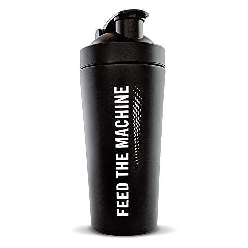 The Protein Works Protein Shaker, Matte Black, 700 g