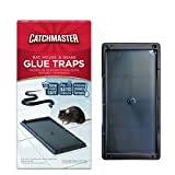 Catchmaster Baited Rat, Mouse and Snake Glue Traps Professional Strength - 6 Glue Trays