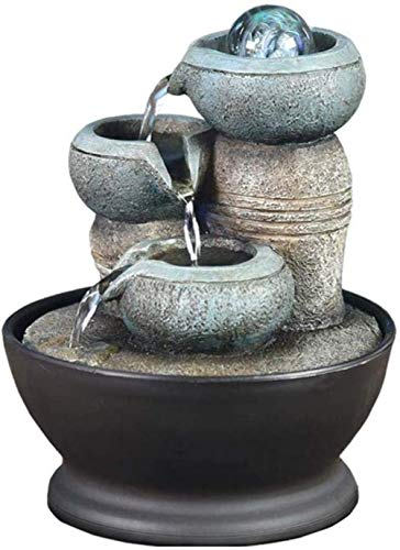 OYQQ Statue Ornaments 10 - Animal Fountain Water Feature Animal Led Water Feature, Modern, Independent For Garden, Indoor Fountain Courtyard & Decking, D