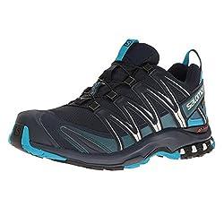 Salomon Men's XA PRO 3D GTX Trail Running Shoes, Blue (Navy Blazer / Hawaiian Ocean / DAWN BLU), 44 2/3 EU