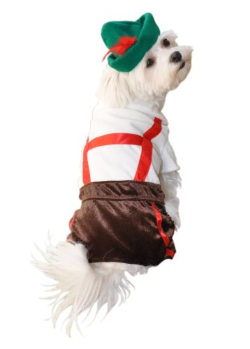 Anit Accessories Lederhosen Dog Costume, 8-Inch by Anit Accessories