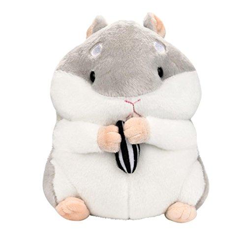 Juguete de peluche para niños con diseño de animales, Y56 de peluche de 23 cm, bonito y adorable peluche de Kawaii con diseño de hámster y peluche de animal