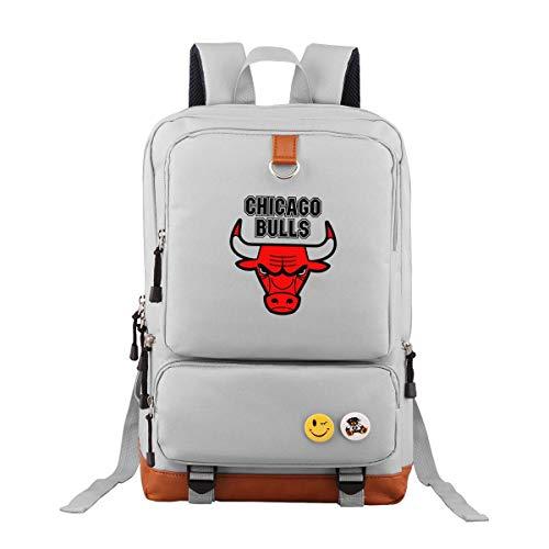 Cool Chicago Bulls Oxford Rucksack Schulrucksack Laptoprucksack Für Herren Damen Jungen MädchenDaypacks