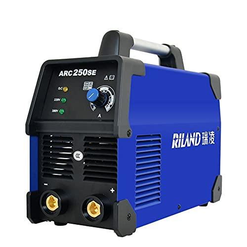 Máquina de soldador ARCO 250SE Portátil ARCO MMA Máquina de soldadura Welding Inverter Doble soldador monofásico Para soldadura trabajando y trabajando eléctrico.