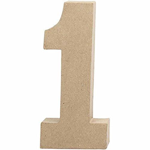 Creativ Zahl, groß, H: 20,5 cm, 1, 1 Stck.