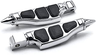 Krator Stiletto Motorcycle Foot Pegs Footrests Left+Right For Honda 750 Shadow Ace Aero Spirit RS 2000-2013 Rear