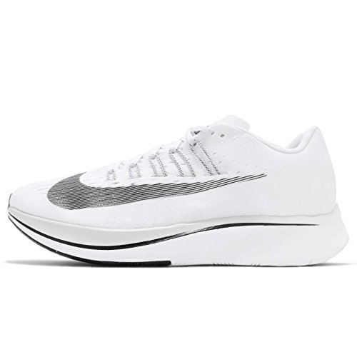 Nike Mens Zoom Fly Athletic Trainer Running Shoes White 8 Medium (D)