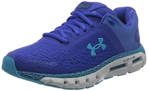 Under Armour HOVR Infinite 2, Zapatillas para Correr de Carretera para Mujer, Emotion Blue/Smalt Blue/Equator Blue (500), 35.5 EU