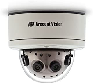 ARECONT VISION - DOMO IP PANORÁMICA 12 MPX 5.4 MM X 4 LENTES