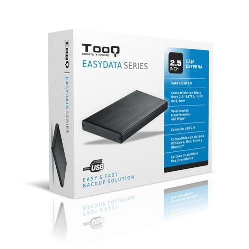 TooQ TQE-2507B - Carcasa para Discos Duros HDD de 2.5