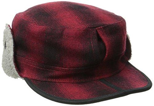Outdoor Research Yukon Cap, Redwood/Black, Large