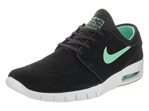 Nike SB Stefan Janoski Max L Mens Trainers 685299 Sneakers Shoes (UK 3.5 US 4 EU 36, Black Green Glow White 039)