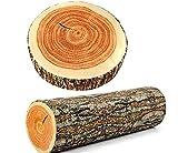 HUANGXM Creative Natural Woods Design Log Soft Chair Cushion Pillows Round Woods Grain Stump Shaped Decorative Cushions(2#)