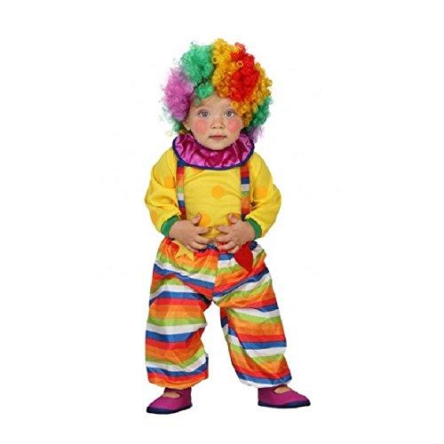 ATOSA disfraz payaso niño bebé amarillo 0 a 6 meses