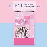 BlackPink LISA JISOO JENNIE ROSE テテ グッズ 2020年 卓上 カレンダー (写真集 カレンダー) KPOP BlackPink写真集 漫画卓上カレンダー (Blackpink-2)