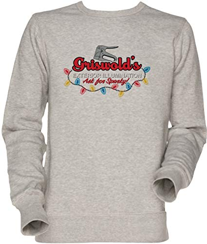 Vendax Griswolds Exterior Illumination Herren Unisex Herren Damen Jumper Sweatshirt Grau Men's Women's Jumper Grey