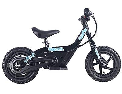 SYX MOTO Spark 24V 100W Kids Mini Electric Balance Bike Freestyle Ride-on Bike (Black)