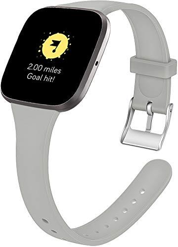 Gransho Repuesto de Correa de Reloj de Silicona Compatible con Fitbit Versa 2 / Versa 2 SE/Versa Lite/Versa smartwatch, Caucho Fácil de Abrochar para Relojes y Smartwatch (Pattern 5)