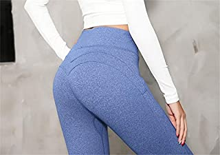 BEESCLOVER Oyoo Solid Booty Up Sports Legging Women's Compression Thigts M Line Butt Lift Workout Leggings Hip Push Up Stretch Yoga Pants