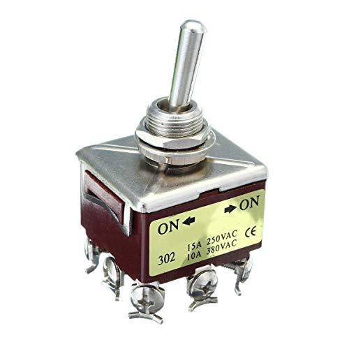 WYJBD LKYHYQ Voltage Toggle-Typ A-Schalter Sitz for Grade 9-Pole 25A 250VAC KN302 120 / 240VAC ON/Off Motorrad Accessor
