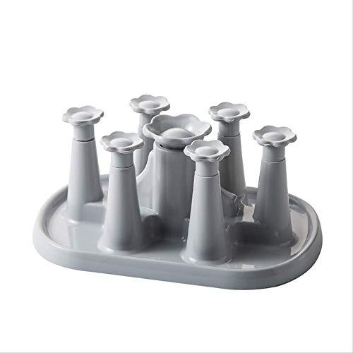 Flasche Wäscheständer Babyflasche Drain Wäscheständer Kunststoff Küche Organizer Ablage Regal...